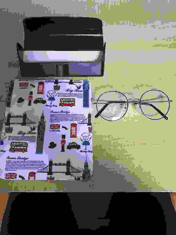 멜라크메 FDA 인증 동글이 라운드 자외선 블루라이트 차단 안경 골드블랙 안경테 할인  리뷰 후기
