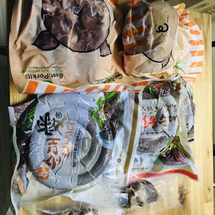 창구식품 진전통순대(1kg) 냉동식품  리뷰 후기