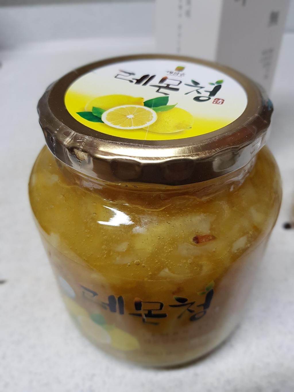 견과공장 겨울향기 프리미엄 햇과일청 2종 세트 유자청 1kg + 레몬청 950g  리뷰 후기