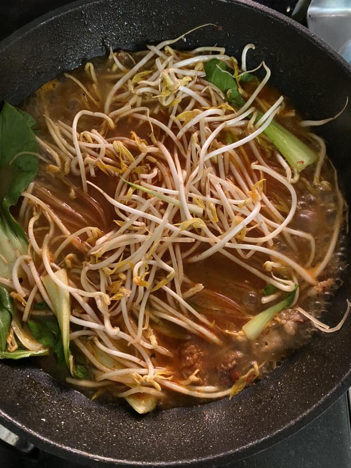 홈스토랑 애슐리 사천식 우삼겹 마라 쌀국수  리뷰 후기