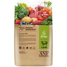 ANF 유기농 6Free 양고기 전연령 애견 사료, 양, 6kg, 1개