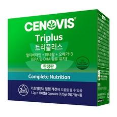 세노비스 트리플러스 종합비타민, 100캡슐, 1개