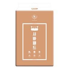 딩동펫 시바 애견 배변패드 고급형 레몬향 100매