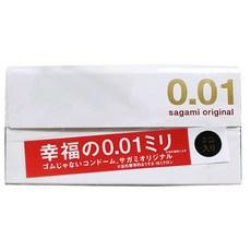 사가미 오리지날001 초박형 콘돔, 3개입, 1개