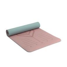 아따산 카르마4 벨라 요가매트 6mm, 핑크 + 그레이