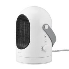 엑토 미니멀 PTC 히터 회전형 전기온풍기, HTR-03, 화이트