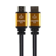 포엘지 HDMI 2.0 케이블 골드, 1개, 3m