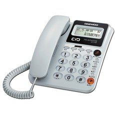 대우텔레폰 유선전화기, DT-7780(화이트)