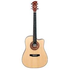 삼익악기 베일리 어쿠스틱 기타 D바디 + 구성품 10종 세트, JWG-100, Natural
