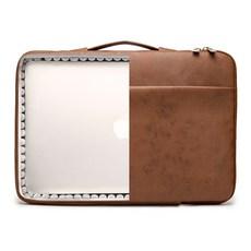 킨맥 360쉴드 노트북 가방, 레더브라운