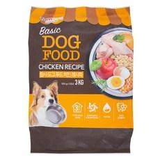 탐사 6free 강아지 사료 치킨 레시피, 3kg, 1개
