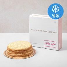 빌리엔젤 밀크레이프 케이크 (냉동)