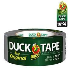 [공식판매점] 덕테이프 오리지널 강력 접착 덕트테이프 48mm x 27m (30yd) Duck Tape