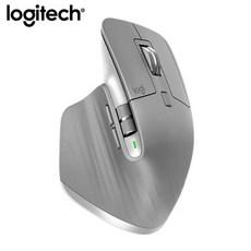 무소음 인체공학 무선Logitech MX Master 3 Mouse 2.4G 다중 장치, 회색