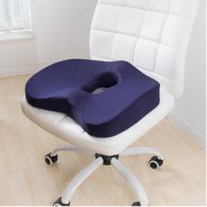 힙앤바디 통기성 기능성 의자 방석, 네이비