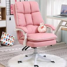 [리즈너블 홈데코] 스마트 베이직 컴퓨터 BJ 의자 3색상 아이보리/핑크/블랙, 핑크