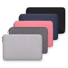 고운세상 맥북 lg 그램 삼성 13인치 14인치 15인치 16인치 17인치 노트북 파우치 케이스 커버, 블랙