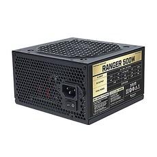 파워가드 RANGER 500W _파워서플라이 +12V Single Rail_85+ PFC회로 5년 무상_당일발송, RSS500-ABO
