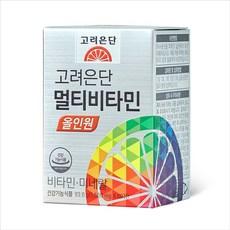 고려은단 종합비타민 추천 올인원 60정, 1개
