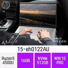 HP 가성비 노트북 파빌리온 15-eh0122AU, 16GB, 512GB, 윈도우 포함