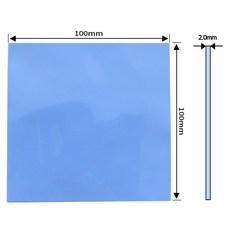 쿨러 써멀패드 Thermal Pad 쿨링 방열 열전도패드 100 x 2.0mm