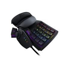레이저 타르타로스 게임 일렉트로닉 컴피티션 유선키보드, Black, V2, 한손키보드