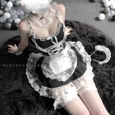 고양이 섹시 하녀옷 가정부 메이드복 코스프레의상 여자 성인코스프레의상 코스튬옷
