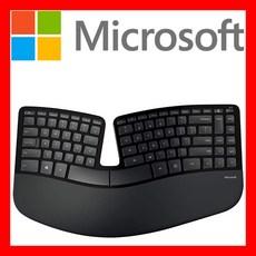 MS 마이크로소프트 키보드 마우스 무선 스컬프트 인체공학 디자이너 서피스 어고노믹 세트, 스컬프트 키보드