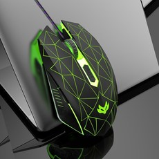 영국 및 유럽 랭글러 마우스 유선 CAD 도면 도면 도면 사무실 e-sports 게임 화웨이 샤오 미 Lenovo Dell 노트북에 적합한 전용 마우스, 스타 블랙, 공식 표준