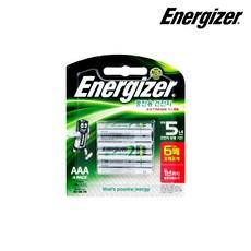 에너자이저 익스트림 충전지 AAA 4입 충전용건전지, 1개